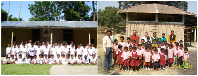 Tribal schools of The Art of Living in Chirang and Kokrajhar