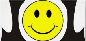 A big smile!
