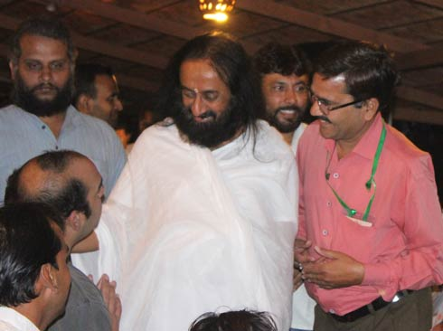 Sri Sri Ravi Shankar the founder of the Art of Living