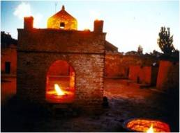 In Azerbaijan the fire is also sacred