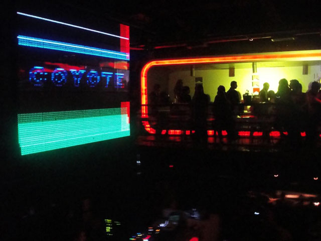 "Discotheque ""Coyote"" in Paraguay"